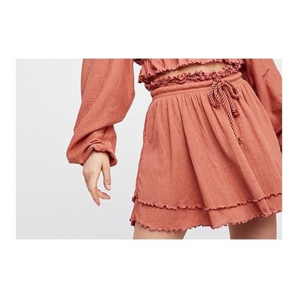 Free People Dresses & Skirts - Free People Sweet Lady Layered Ruffle Skirt.